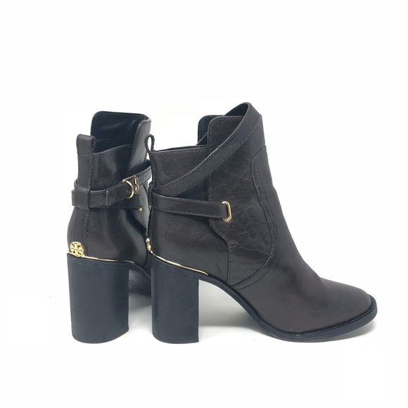 67231d619eec Tory Burch Brown Leather Ankle Booties Boots 7. M 5b33cbb2df03076402d9ad96
